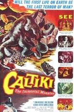 Poster for Caltiki, the Immortal Monster