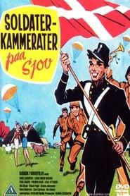 Soldaterkammerater på sjov Poster