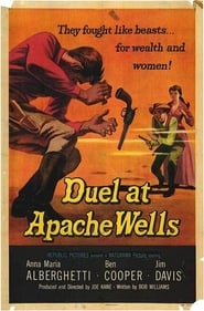 Duel at Apache Wells locandina