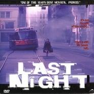 Last Night movie poster