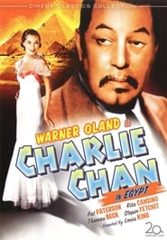 Photo de Charlie Chan in Egypt affiche