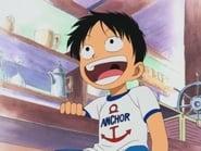 ¡El pasado de Luffy! ¡Aparece Akagami Shanks!