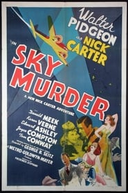 Póster Sky Murder
