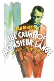 The Crime of Monsieur Lange (1936)