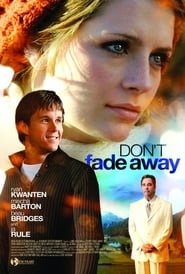 Don't Fade Away Film Plakat