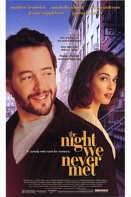 The Night We Never Met Film Plakat