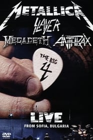 Metallica/Slayer/Megadeth/Anthrax: The Big 4 - Live from Sofia, Bulgaria Poster
