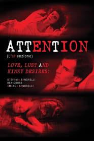 L'attenzione Film Plakat