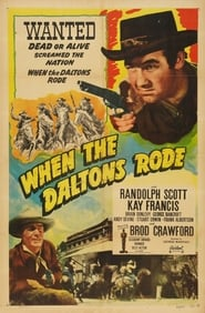 Affiche de Film When the Daltons Rode