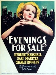 Evenings for Sale Film Plakat