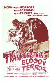 Frankenstein's Bloody Terror Poster