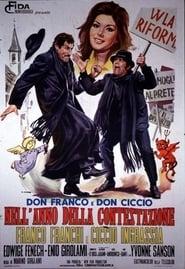 Don Franco e Don Ciccio nell'anno della Contestazione Film in Streaming Completo in Italiano