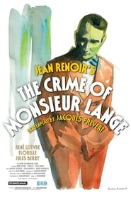 The Crime of Monsieur Lange (1936) Netflix HD 1080p