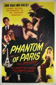 The Phantom of Paris affisch