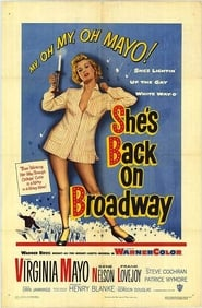 She's Back on Broadway affisch