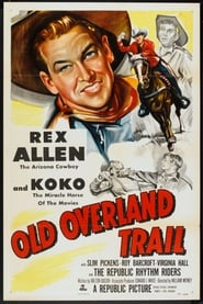poster do Old Overland Trail