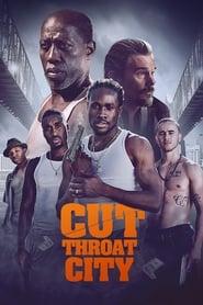 Poster Cut Throat City 2020