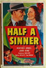 Half A Sinner affisch