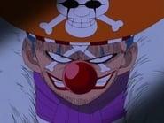 ¡Miedo al poder misterioso! ¡El capitán pirata Buggy el Payaso!