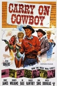Carry On Cowboy Film Plakat