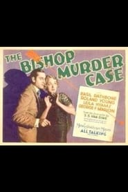 Plakat The Bishop Murder Case