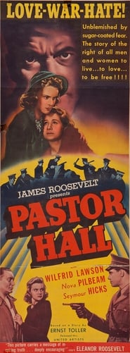 Pastor Hall Film Plakat