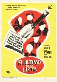 Poster of El último de la lista