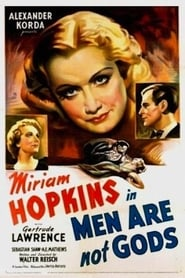 Men Are Not Gods Film Plakat