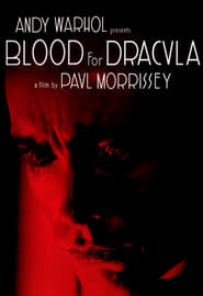 Blood for Dracula Film Plakat