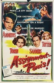 Assignment: Paris Film Plakat