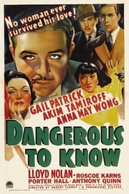 Dangerous to Know film streaming