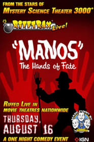 RiffTrax Live: Manos - The Hands of Fate affisch