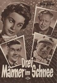 Drei Männer im Schnee Film Plakat