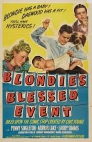 Blondie's Blessed Event Film Kijken Gratis online