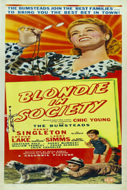 image de Blondie in Society affiche