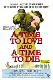 A Time to Love and a Time to Die Film Plakat