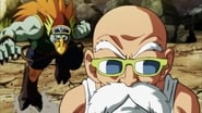 A Fierce Battle! Master Roshi Stakes His Life!!