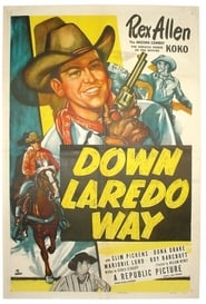 Affiche de Film Down Laredo Way