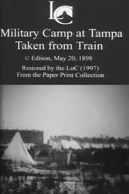Military Camp at Tampa, Taken from Train