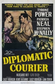 Affiche de Film Diplomatic Courier