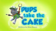Pups Take the Cake
