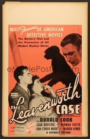 poster do The Leavenworth Case