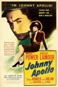 Johnny Apollo Film Plakat
