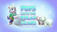 Pups Save the Polar Bears