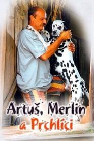 Artuš, Merlin a Prchlíci bilder