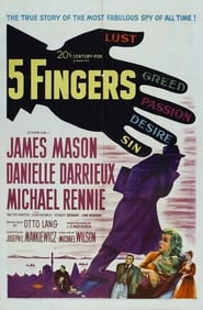 5 Fingers Film in Streaming Completo in Italiano