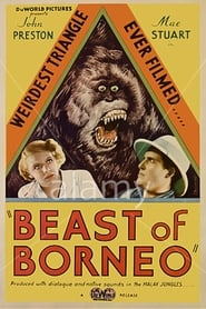 The Beast of Borneo Film Plakat