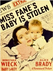 Miss Fane's Baby Is Stolen locandina