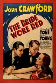poster do The Bride Wore Red