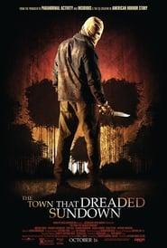 The Town that Dreaded Sundown poster
